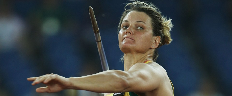 Women's Heptathlon Javelin Throw - Gp A